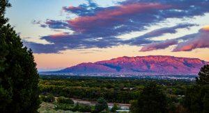 Sandia Mountain View from Atrisco Land Grant